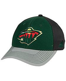 adidas Minnesota Wild 2Tone Stitch Flex Cap