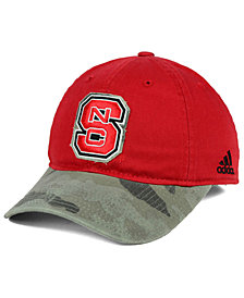 adidas North Carolina State Wolfpack Camo Code Slouch Cap
