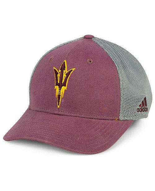 cf6f6db2558 adidas Arizona State Sun Devils Faded Flex Cap - Sports Fan Shop By ...