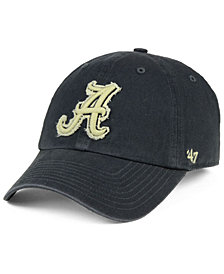'47 Brand Alabama Crimson Tide Double Out CLEAN UP Cap