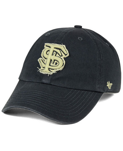 '47 Brand Florida State Seminoles Double Out CLEAN UP Cap