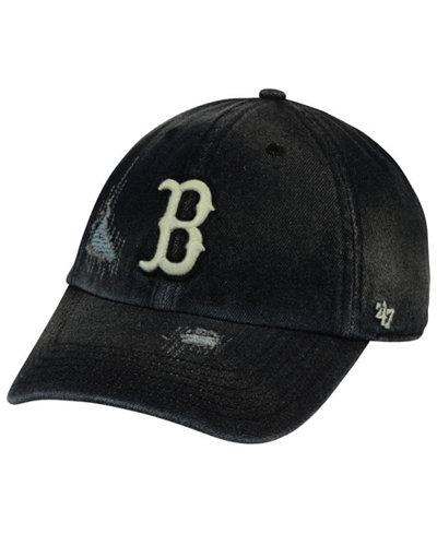 '47 Brand Boston Red Sox Dark Horse CLEAN UP Cap