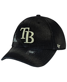 '47 Brand Tampa Bay Rays Dark Horse CLEAN UP Cap