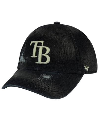 '47 Brand Tampa Bay Rays Dark Horse CLEAN UP Cap