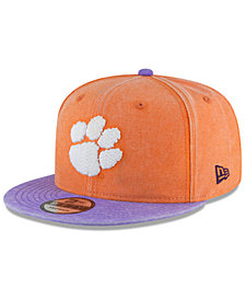 New Era Clemson Tigers Rugged Canvas Snapback Cap