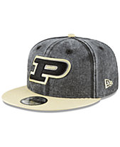 sale retailer 91c77 aea3d New Era Purdue Boilermakers Rugged Canvas Snapback Cap