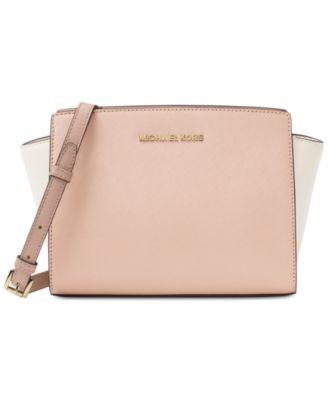 michael kors selma medium messenger handbags accessories macy s rh macys com