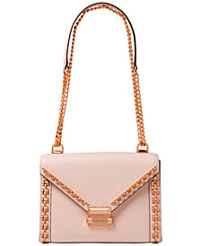 MICHAEL Michael Kors Whitney Studded Frame Shoulder Bag
