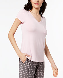 Alfani V-Neckline Pajama Top, Created for Macy's