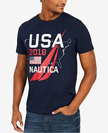 Nautica Men's 2018 Logo-Print T-Shirt, Created for Macy's