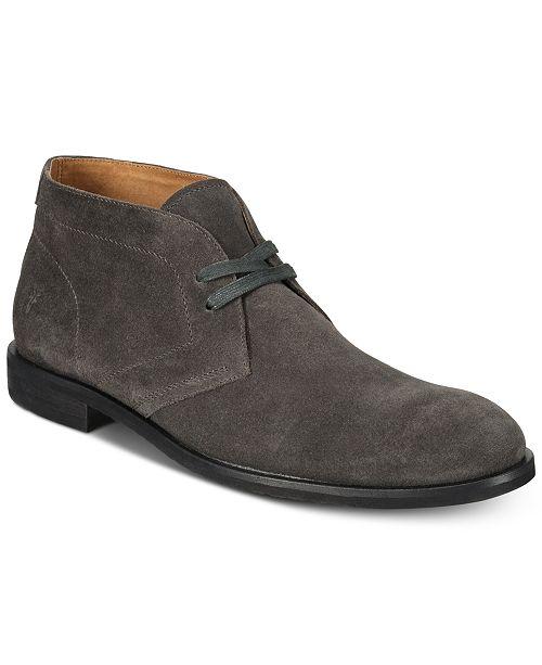 Frye Men's Scott Suede Chukka Boots, Created for Macy's Men's Shoes