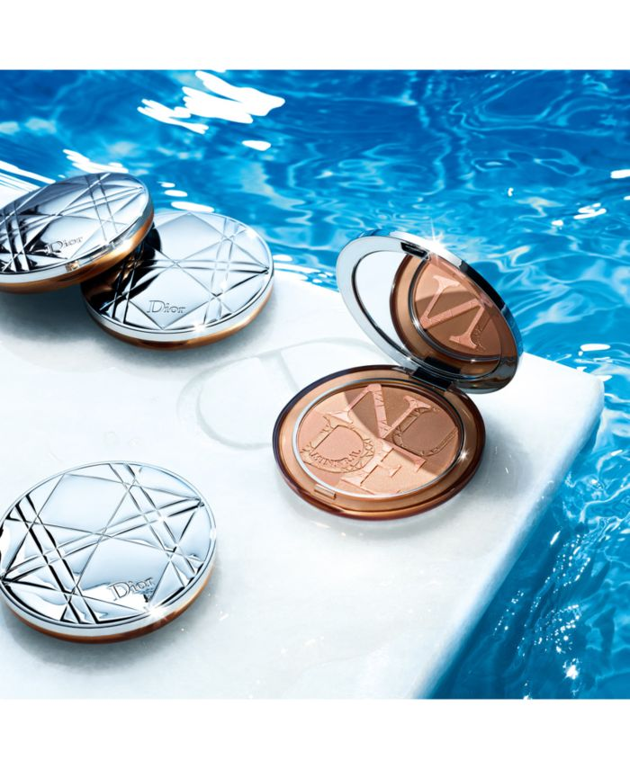 Dior Diorskin Mineral Nude Bronze Healthy Glow Bronzing Powder & Reviews - Makeup - Beauty - Macy's
