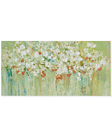 Madison Park Spring Fields Cross-Brush Gel-Coated Hand-Embellished Canvas Print