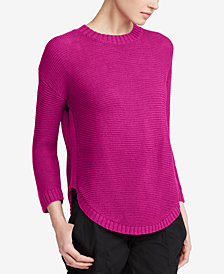 Lauren Ralph Lauren Petite Draped Sweater