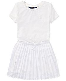 Polo Ralph Lauren Pleated Dress, Toddler Girls