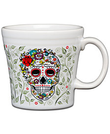 Fiesta Skull and Vine Sugar Tapered Mug