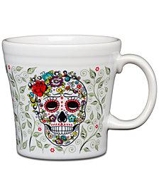 Fiesta Skull and Vine Sugar Tapered Mug