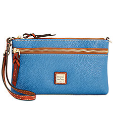Dooney & Bourke Tech Top Zip Wristlet