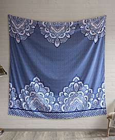 "Intelligent Design Isabella 90"" Square Printed Wall Tapestry"