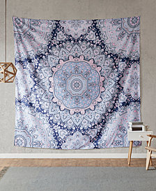 "Intelligent Design Odette 90"" Square Printed Wall Tapestry"