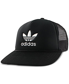 adidas Women's Originals Trefoil Mesh Snap-back Hat