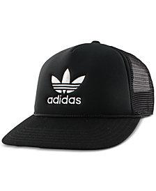 adidas Women's Originals Trefoil Mesh Snap-back Hat