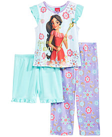 Disney's® Princess Elena of Avalor 3-Pc. Pajama Set, Toddler Girls
