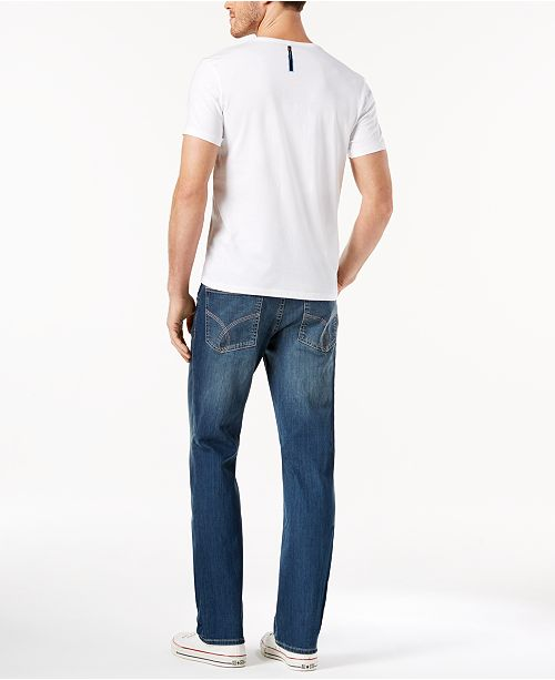 568537f8d534 Calvin Klein Jeans GET THE LOOK  Calvin Klein Slim Straight Fit Jeans +  Logo T ...