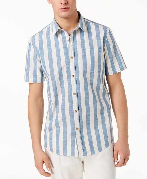 American Rag Men's Brock Striped Shirt, Created for Macy's
