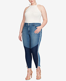 Jessica Simpson Trendy Plus Size Adored Curvy-Fit Skinny Jeans