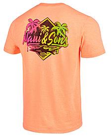 Maui and Sons Men's Rebel Shark Logo-Print T-Shirt