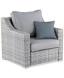 Elle Decor Vallauris Outdoor Arm Chair, Quick Ship