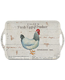 Pimpernel On the Farm Large Melamine Handled Tray
