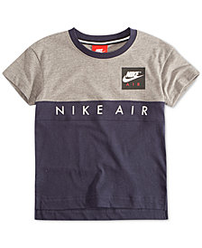 Nike Toddler Boys Air-Print Colorblocked T-Shirt