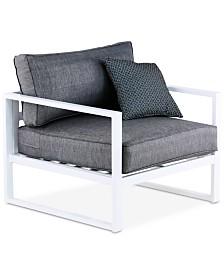 Elle Decor Paloma Arm Chair, Quick Ship