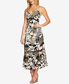 CeCe Printed Maxi Dress