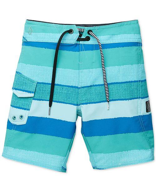 c9e0141efc Volcom Magnet Stripe Swim Trunks, Toddler Boys & Reviews ...