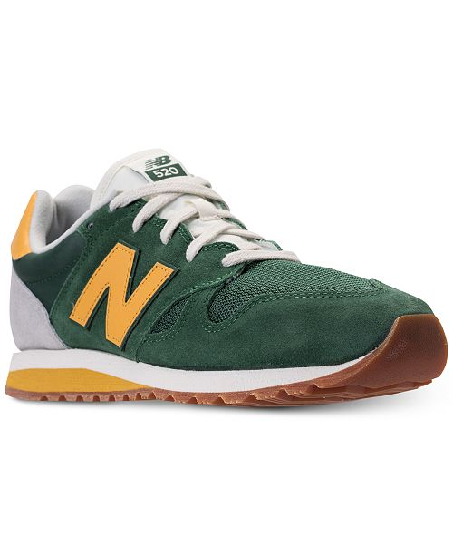New Balance Men's 520 Casual Sneakers from Finish Line DMBYbFg4rK
