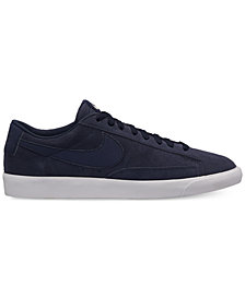 Nike Men's Blazer Low Suede Sneakers from Finish Line