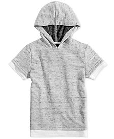 Jaywalker Big Boys Faux-Layer Hoodie T-Shirt