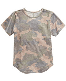 Jaywalker Big Boys Camo-Print T-Shirt