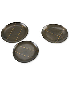 INK+IVY Tribecca Decorative Round Platter Set of 3