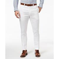 Lauren Ralph Lauren Mens Classic-Fit Solid Linen Dress Pants