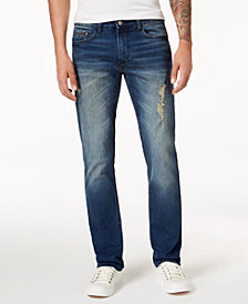 Calvin Klein Jeans Men's Slim-Fit Ripped Jeans