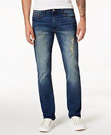 Calvin Klein Jeans Men's Slim-Fit Ripped Jeans