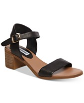 a85e63d6efc Steve Madden April Block-Heel City Sandals