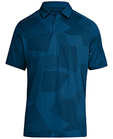 Under Armour Men's Limitless Printed Golf Polo