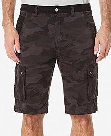 Buffalo David Bitton Men's Colorblocked Cargo Shorts