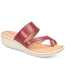 Born Siene Wedge Sandals