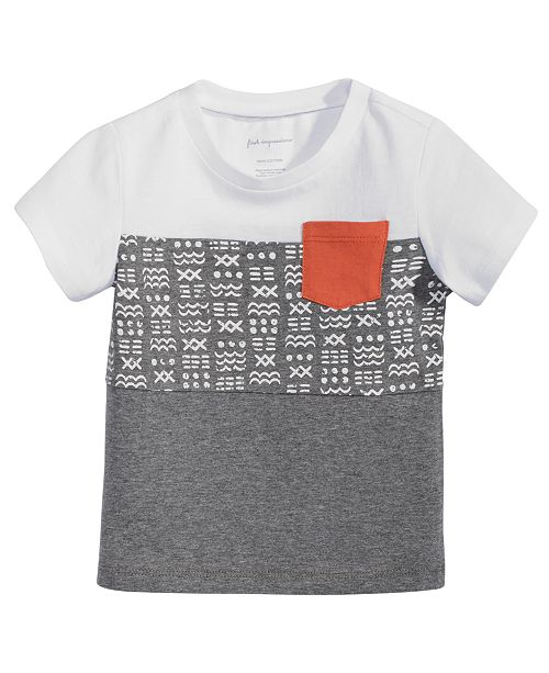 1a802d3ae First Impressions Baby Boys Colorblocked Cotton T-Shirt